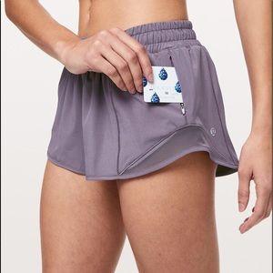 Lululemon gray hottie hot running shorts 4